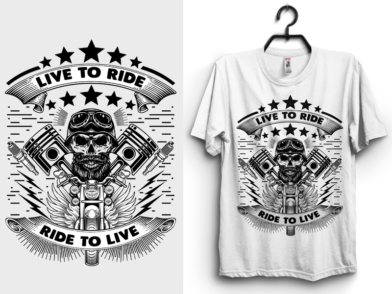 Live to Ride, Ride to Live T.