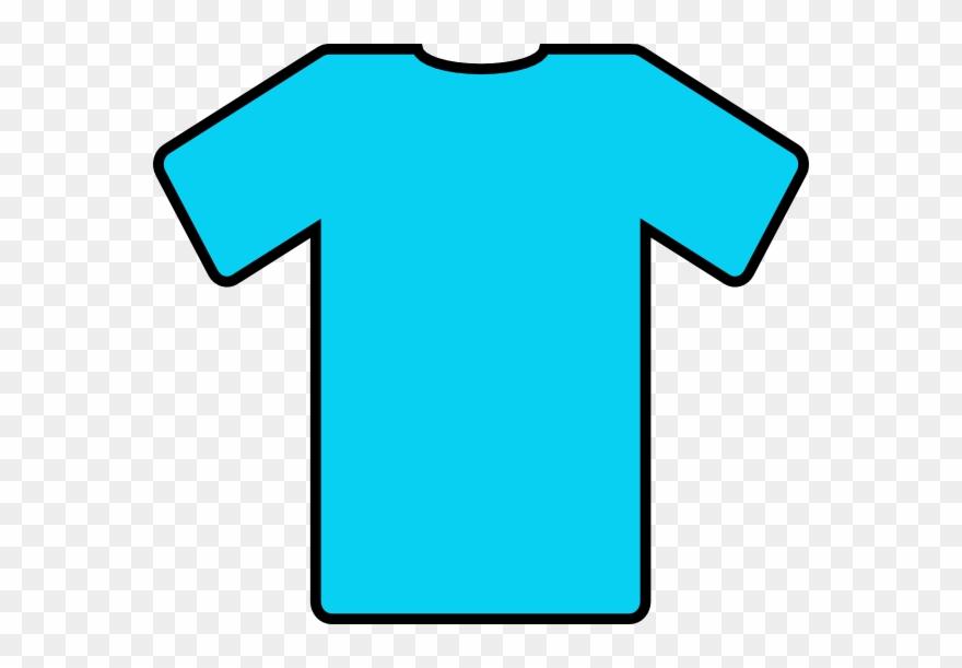Blue T Shirt Clip Art At Clkercom Vector Online Royalty.