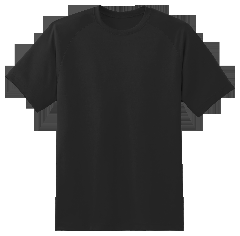 Black T Shirt PNG Image.