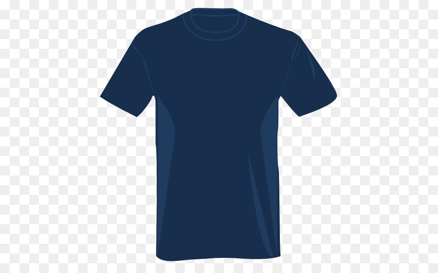 Tshirt Blue png download.