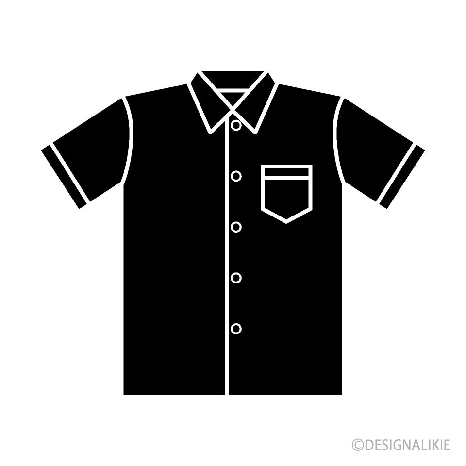 Free Shirt Silhouette Clipart Image|Illustoon.
