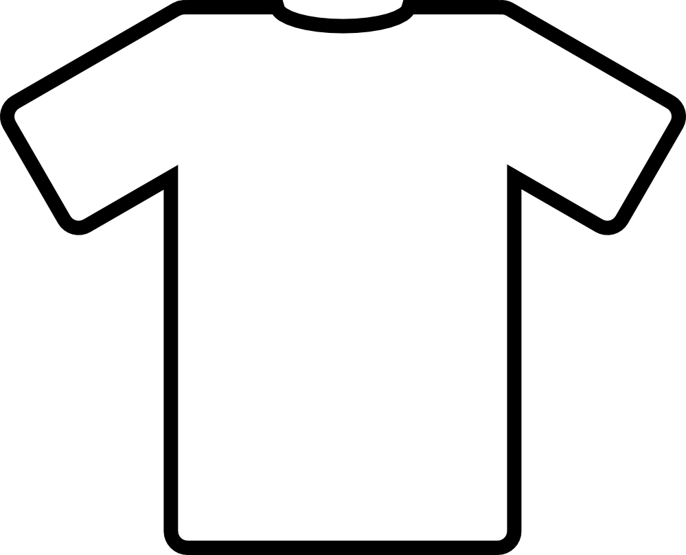 T Shirt Silhouette Vector Download.