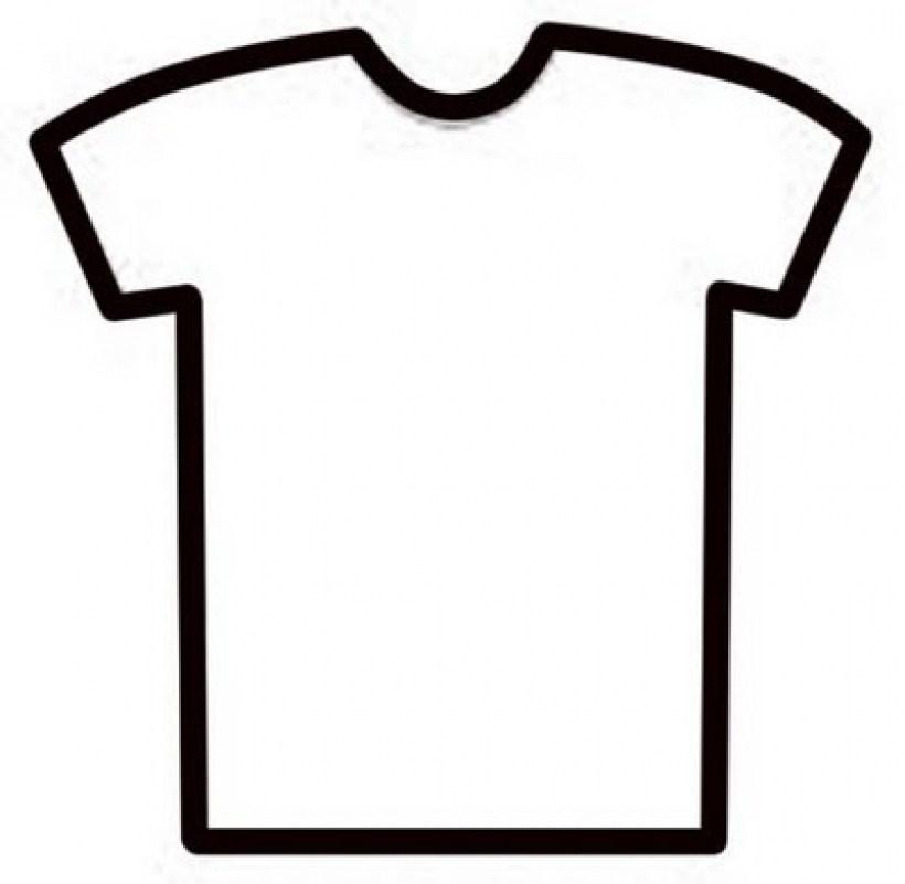 Free t shirt template clipart best regarding clipart t shirt.