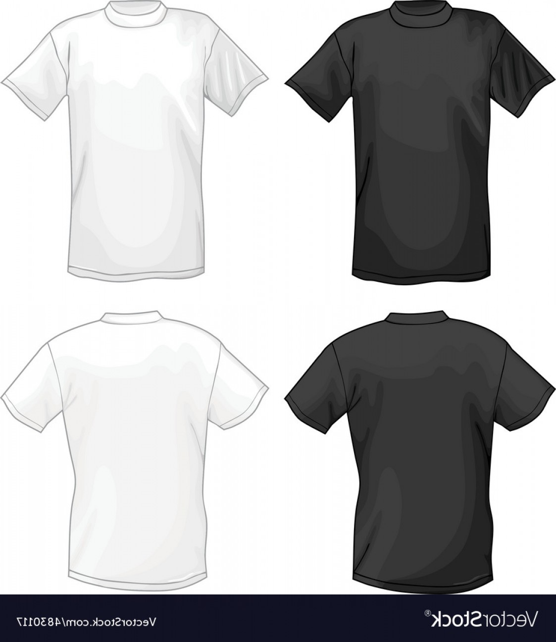 T Shirt Design Template Vector.