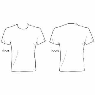 Free Black T Shirt Template PNG Images & Cliparts.