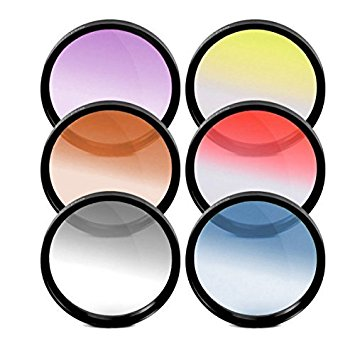 Amazon.com: 52M Multicoated Graduated 6 Piece Filter Kit For Canon.