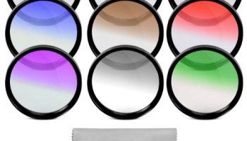 67MM Complete Full Color Lens Filter Set for CANON Rebel T5i T4i.