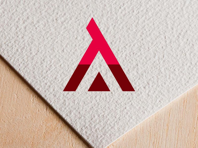 TA letter logo design by lukcy.sraz on Dribbble.