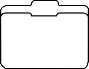 Clipart file tab.