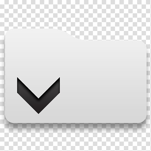 Tabs, white and black envelope transparent background PNG.