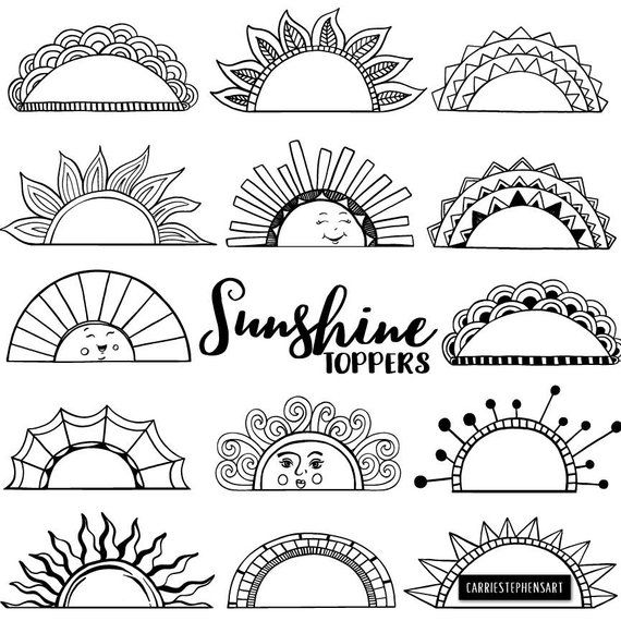 Printable Label ClipArt Tabs, Art Journal Graphic Border.