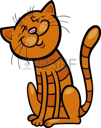 3,869 Tabby Cat Stock Vector Illustration And Royalty Free Tabby.