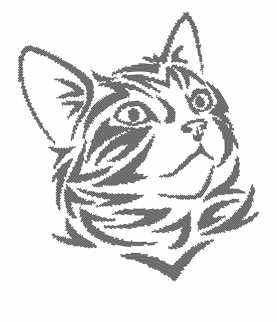 Free Cute Cat Clipart Black And White, Download Free Clip.