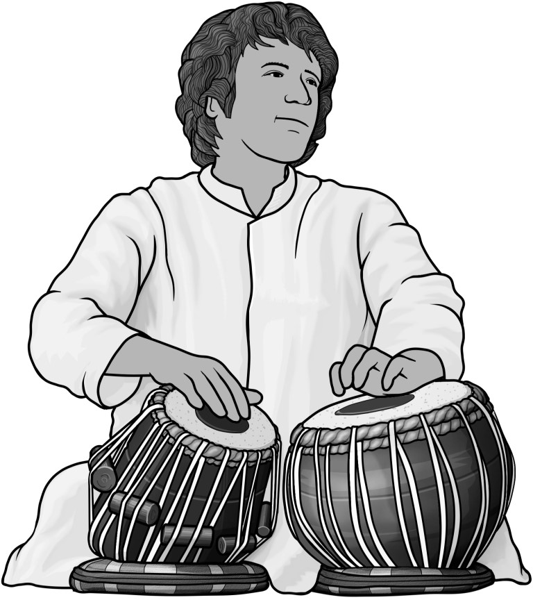 royalty free clipart / tabla.
