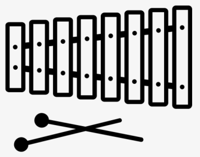 Free Tabla Black White Clip Art with No Background.