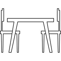 Table and chairs clipart 3 » Clipart Station.