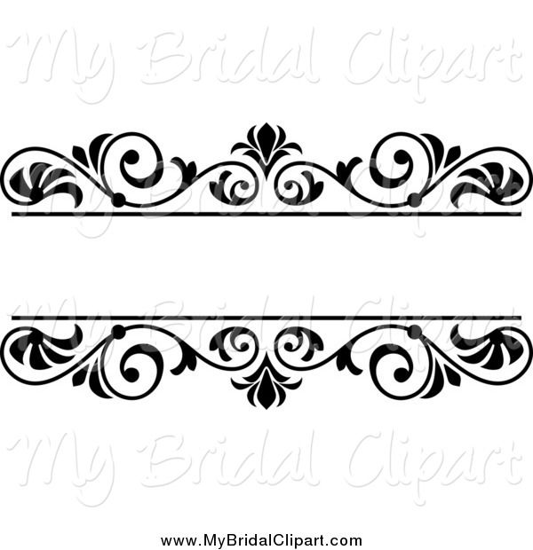 Free wedding clipart borders 4 » Clipart Station.