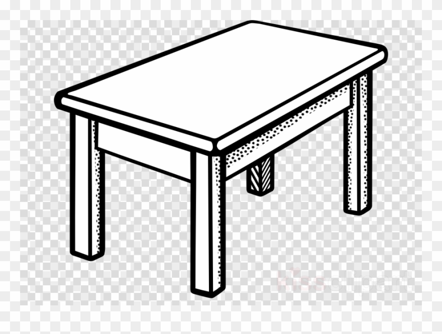 Table Black And White Clipart Bedside Tables Clip Art.