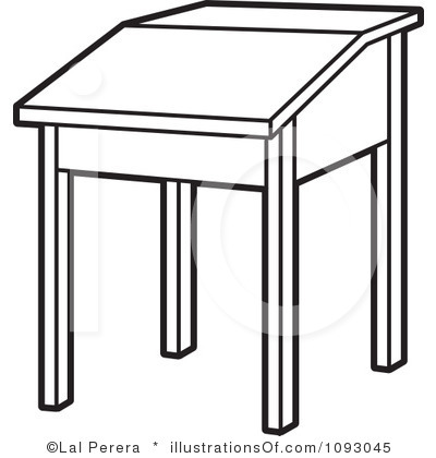 Table Clipart Black And White Free.