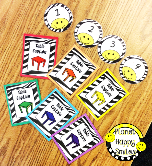 Planet Happy Smiles: Students LOVE Classroom Helpers/Jobs and You.
