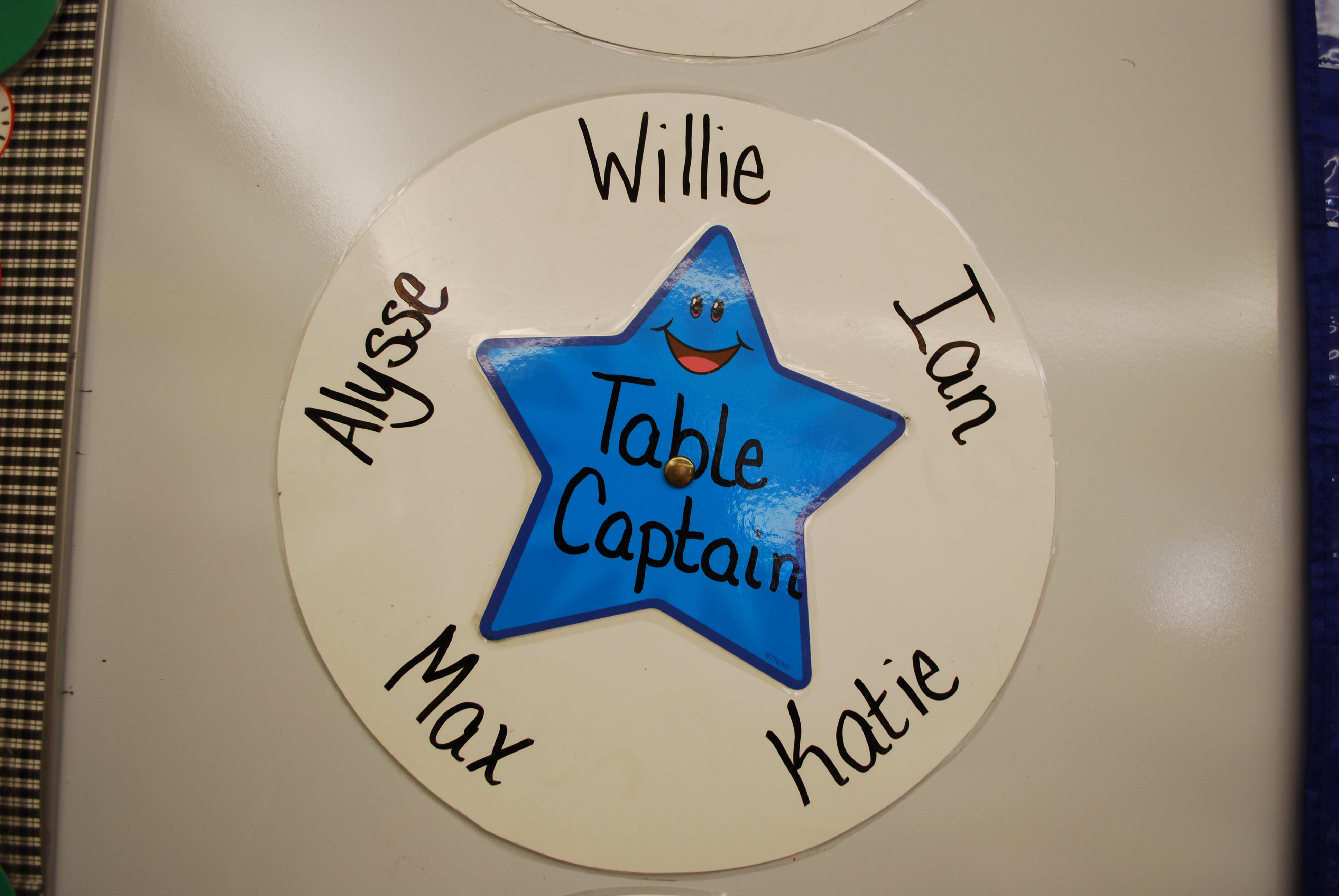 Table Captains.