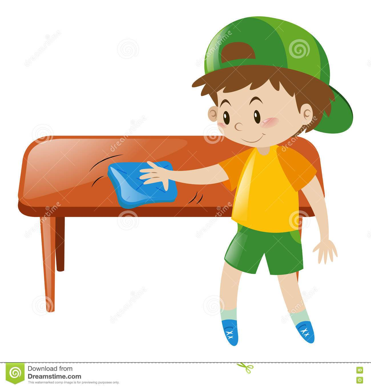 Table cleaner clipart 2 » Clipart Portal.