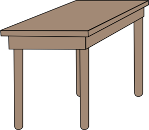 Table Clip Art Free.