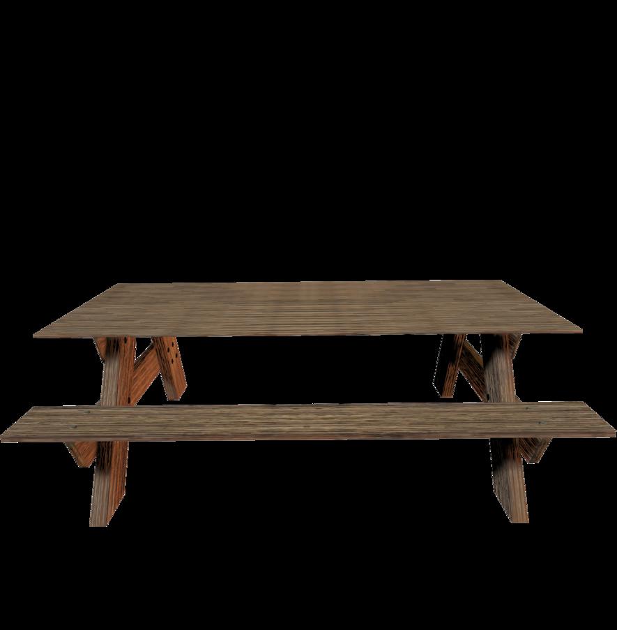 Picnic table clipart transparent background.