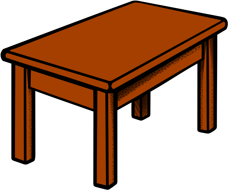 Download HD School Vintage Desk And Attached Chair.