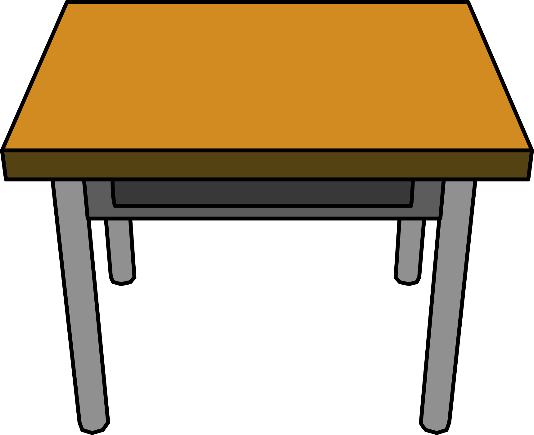 Table Clipart No Background.
