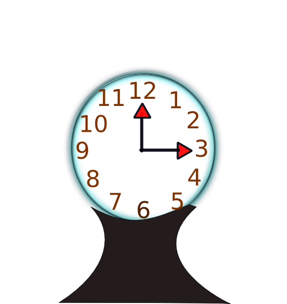 Table Clock Clip Art at Clker.com.