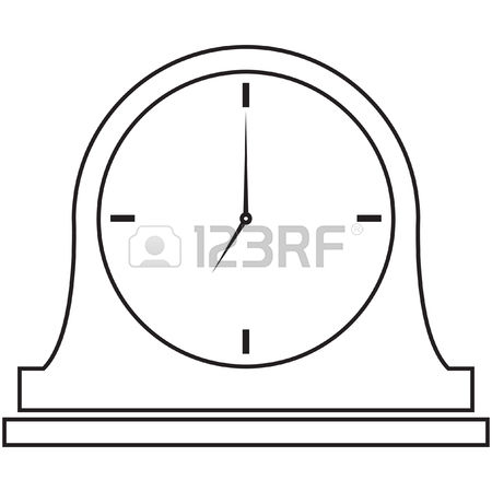 Table Clock Cliparts, Stock Vector And Royalty Free Table Clock.