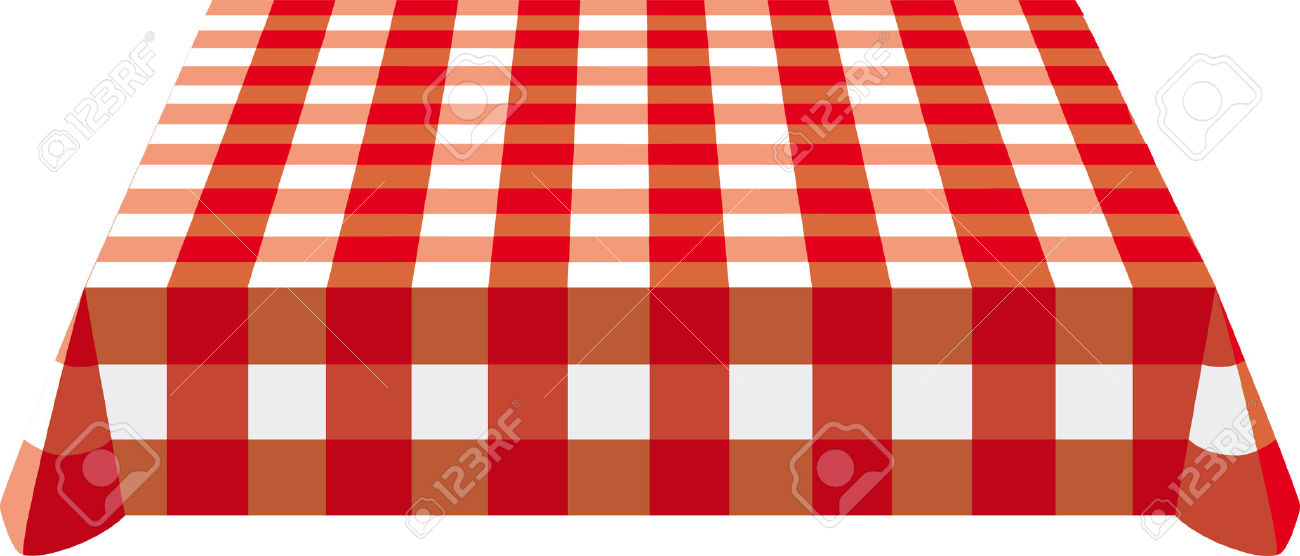 Kitchen table clipart table cloth.