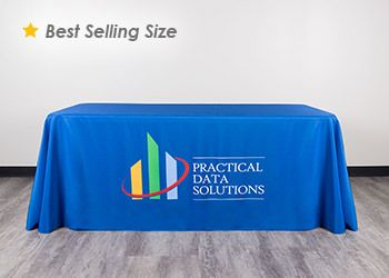 6ft Logo Table Cover.