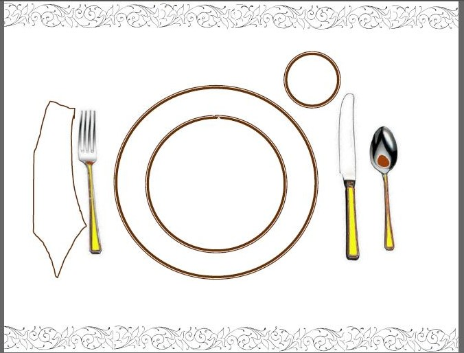 Table Setting. Perfect Table Setting Cheat Sheet Our Howto Guide.