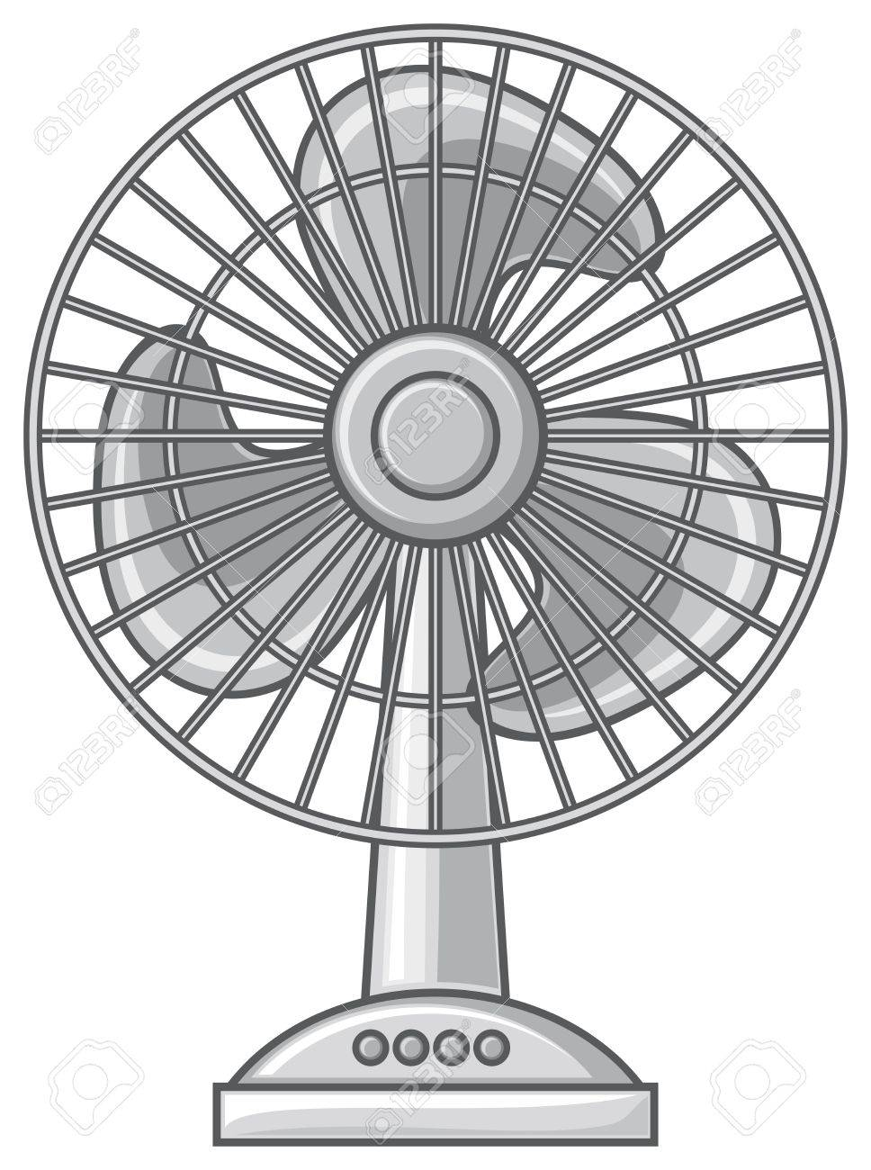 Table fan clipart 5 » Clipart Station.