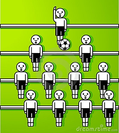 Table Football Clipart.