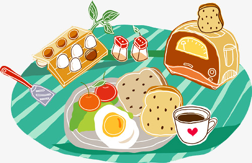 Food Table Clipart.