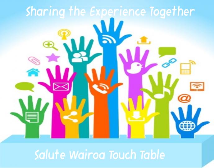 Salute Wairoa Touch Table » Wairoa Centennial Library.