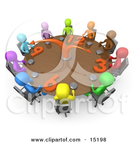 Group Of A Diverse And Colorful Group Of People Seated And Holding.