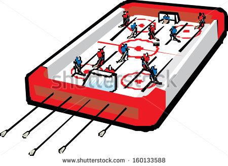 Table Hockey Stock Photos, Royalty.