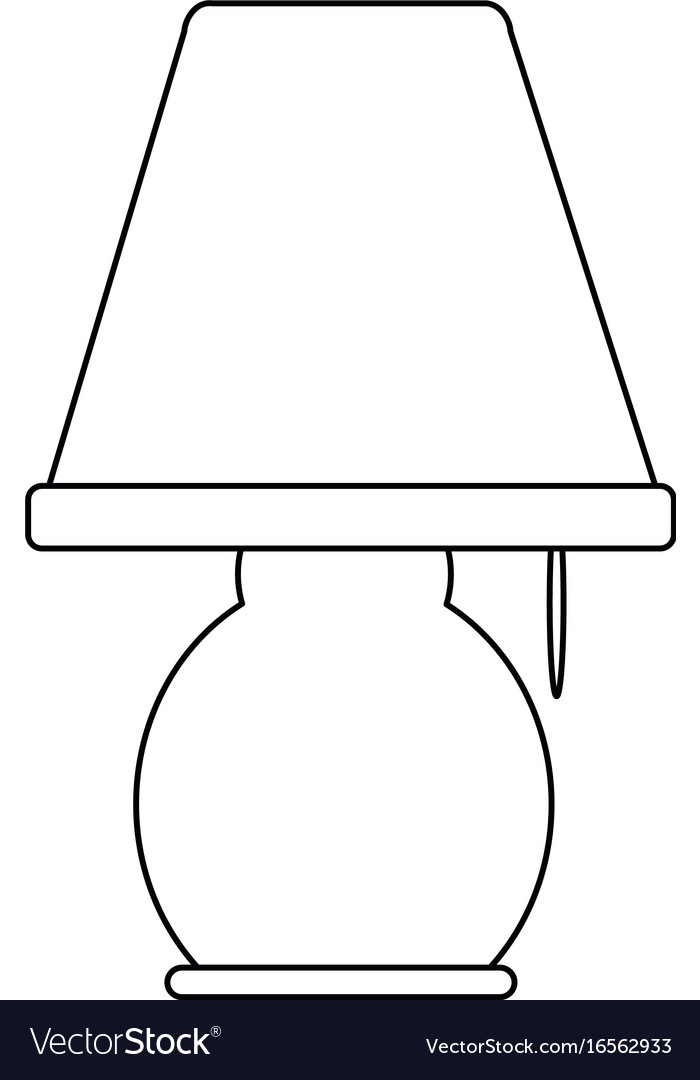 Table lamp light electricity decoration style.