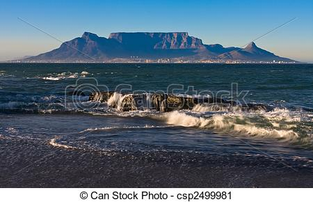 Table mountain images clipart.
