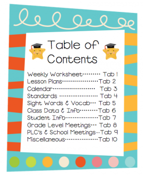 Table Of Contents Book Clipart.