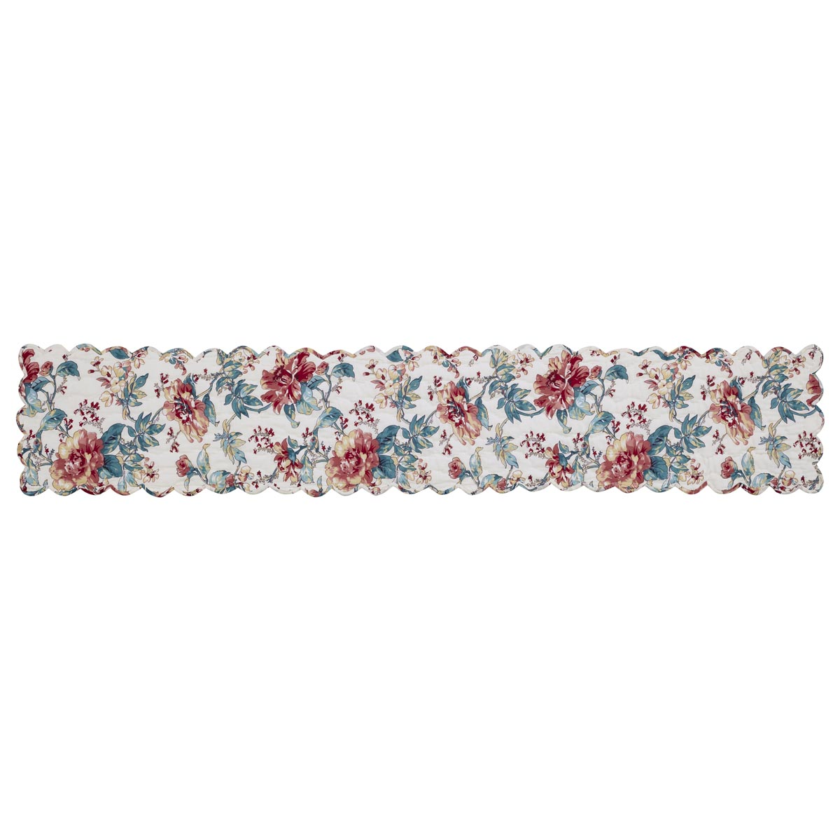 Isabella Extra Large Quilted Table Runner.