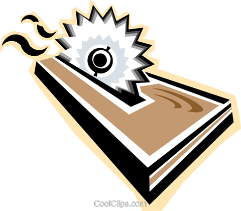 Table saw clipart.