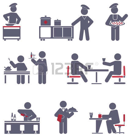 10,681 Table Service Stock Vector Illustration And Royalty Free.