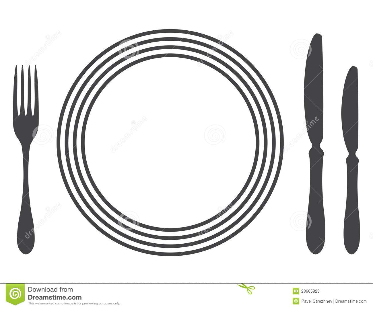Table Settings Clipart.
