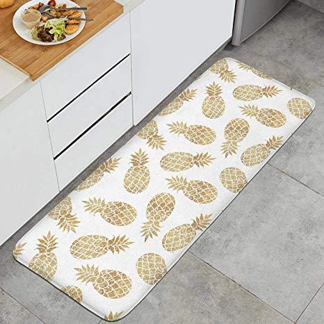 Amazon.com: Gold Pineapple Clipart White Background Anti.