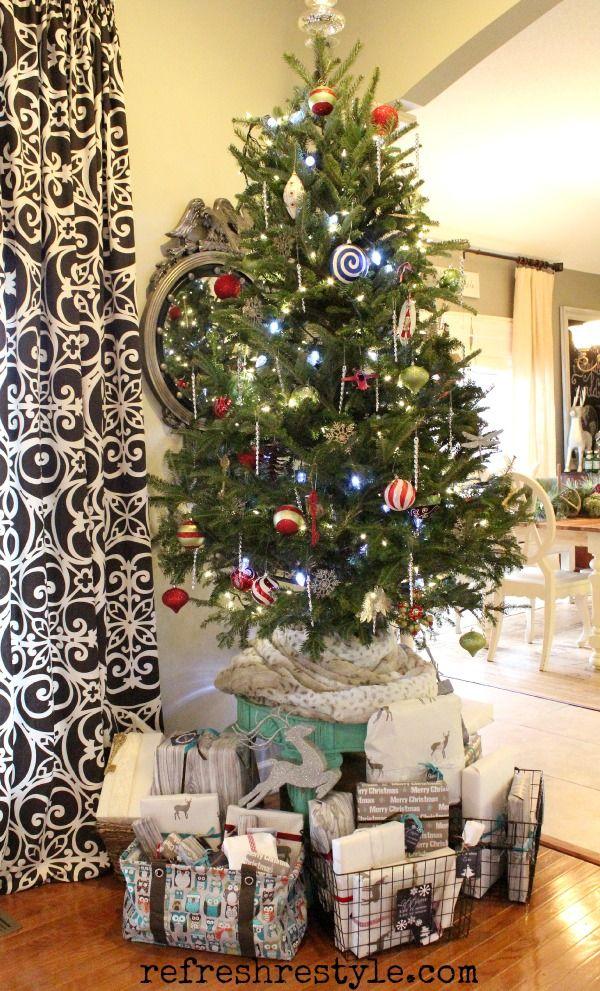 Table Top Christmas Tree.